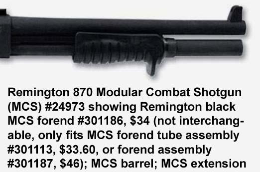 Shotgunworld Com Forearm Grip Used On Remington 870 Mcs